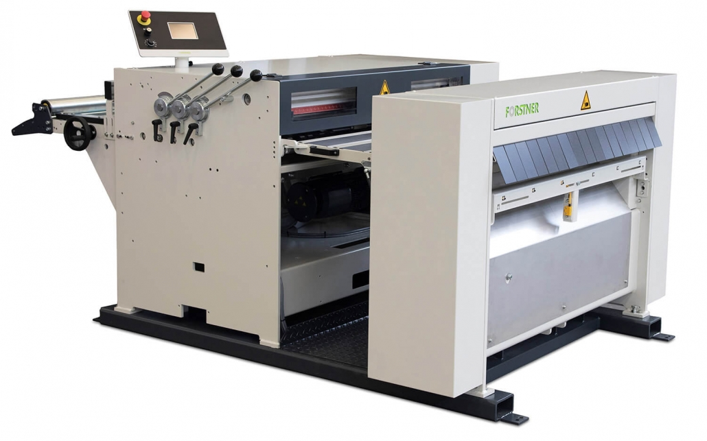 Forstner KA-KT-TFF Cut to Length all-in-one slitting and cut to length machine.